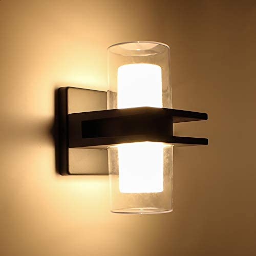 LUTEC Tango LED Sconces Wall Lighting 15 5W Warm White 3000K 1000Lumen Up and Down Outdoor Wall product image