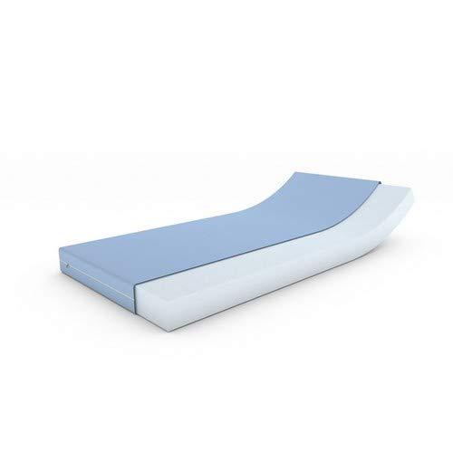 MSS Schaumstoffmatratze, Polyester, Blau, 90 x 190 cm