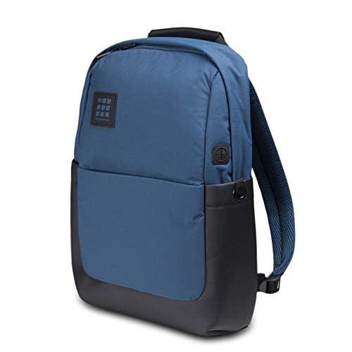 Moleskine ID Collection Zaino Porta PC Device Backpack per Laptop, Tablet e iPad fino a 13'', Dimensioni 32 x 15.2 x 44 cm, Colore Blu Boreale