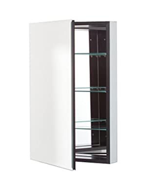 Robern PL Series Flat Beveled Mirrored Door, 23-1/4-Inch W by 30-Inch H by 3-3/4-Inch D