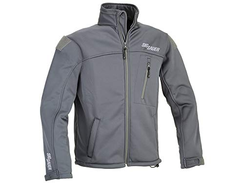 Sig Sauer Softshell Jacke Logo Velcro Fläche f. Patches (XXL)