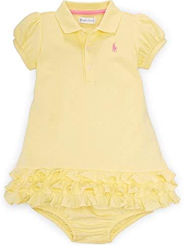 Ralph Lauren bebé niña Polo Vestido y Bloomer Set - -