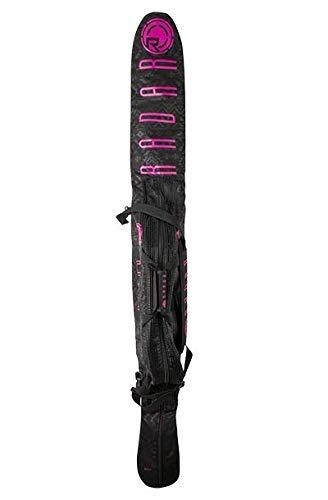 Radar Women's Padded SlalomWaterski Case - Black/Pink - 63-67