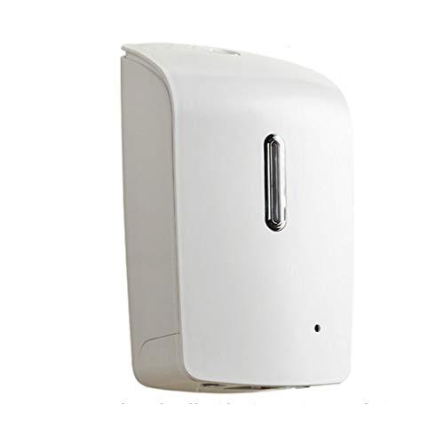 Dispensadores de loción y jabón Dispensador de jabón de espuma completamente automático Dispensador de jabón montado en la pared Hotel que cuelga 1000ML sin perforaciones Estante del distribuidor