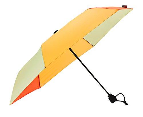 Euroschirm Light Trek Ultra der Sonnen-, Wander-, Regen- & Trekkingschirm Farbe gelb/orange/ockergelb/hellgelb