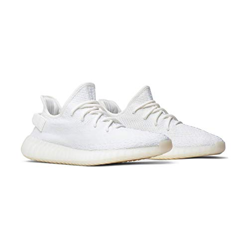 adidas Yeezy Boost 350 V2 Cream White - CWHITE/CWHITE/CWHITE Trainer Size 8.5 UK