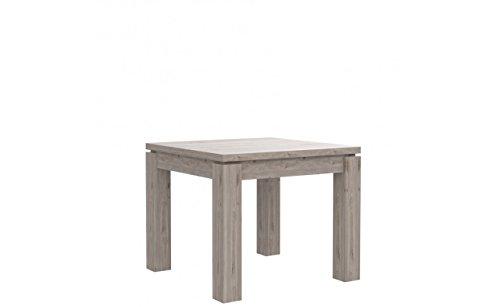 Furniture24 Tisch Küchentisch Esszimmertisch Esstisch ausziehbar 90-180 cm (Nelson Eiche)