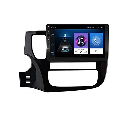 2GRAM + 32GROM para Mitsubishi Outlander 3 GF0W GG0W 2012-2018 DSP 2 DIN Android 9.1 4G Net Car Radio Video Multimedia Player(Size:Ocho núcleos,Color:WiFi:2GB+32GB)