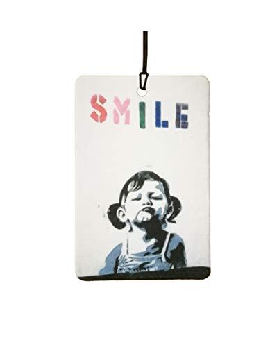 AAF Ambientador De Coche BANKSY SMILE