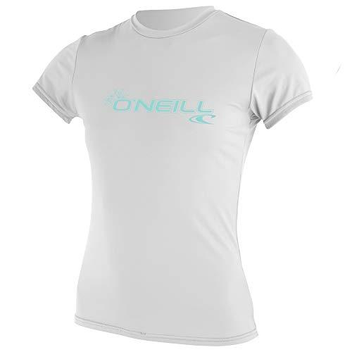 O'Neill Wetsuits Camiseta de Manga Corta para Hombre y Mujer, Color Blanco, XL