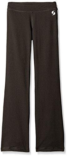 Soffe Girls' Big Dri Boot Cut Pant, Black, Large