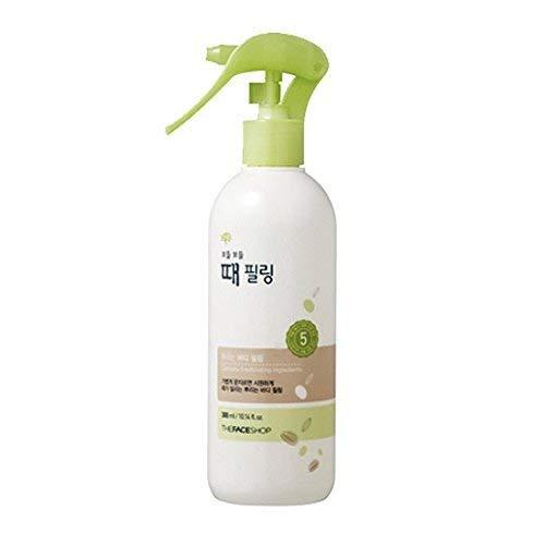 THEFACESHOP Smooth Skin Body Peel Gentle Exfoliation and Convenient Spray Mist, 10.1 Fl Oz