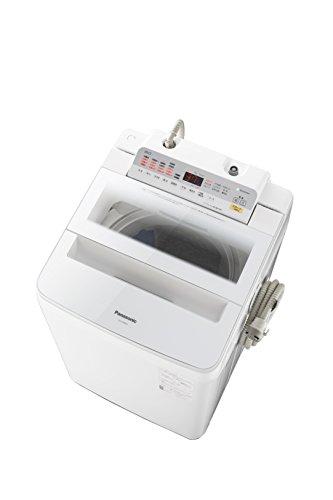 パナソニック 8.0kg 全自動洗濯機 泡洗浄 ホワイト NA-FA80H6-W