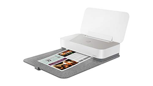 HP Tango X 3DP65B, Impresora Tinta, Color, Imprime, Escanea y Copia Desde la Aplicación HP Smart,Wi-Fi, USB 2.0, Incluye 2 Meses del Servicio Instant Ink y una Funda Protectora, Blanca