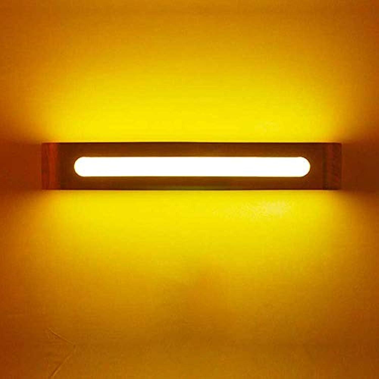 YATTE Home Wandleuchte Schlafzimmer Kopfteil Wandleuchte Flur Innenbeleuchtung LED Einfache Log Wandleuchte (Gre  50  8 cm) (Farbe   40  8cm)