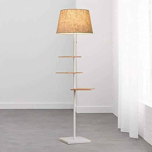 DXX-HR De pie luminarias de pie luminarias Simples Modernos for Sala de Estar Dormitorio Vertical Lámparas de pie, de Fondo Creativo Sofá Bombilla incluida, B (Color : A)