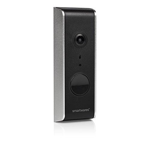 Smartwares DIC-23112 Videoportero WiFi, 1080P HD, Set de 16 Piezas