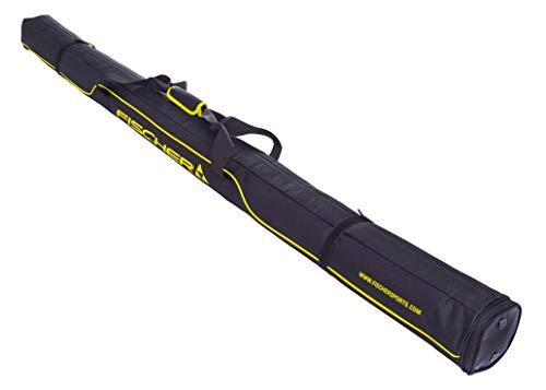 FISCHER Paire de skis unisexes pour adulte, noir, 195/210 Fischer XC Performance, 1 paire, noir, 195 x 210 cm, 210 cm EU