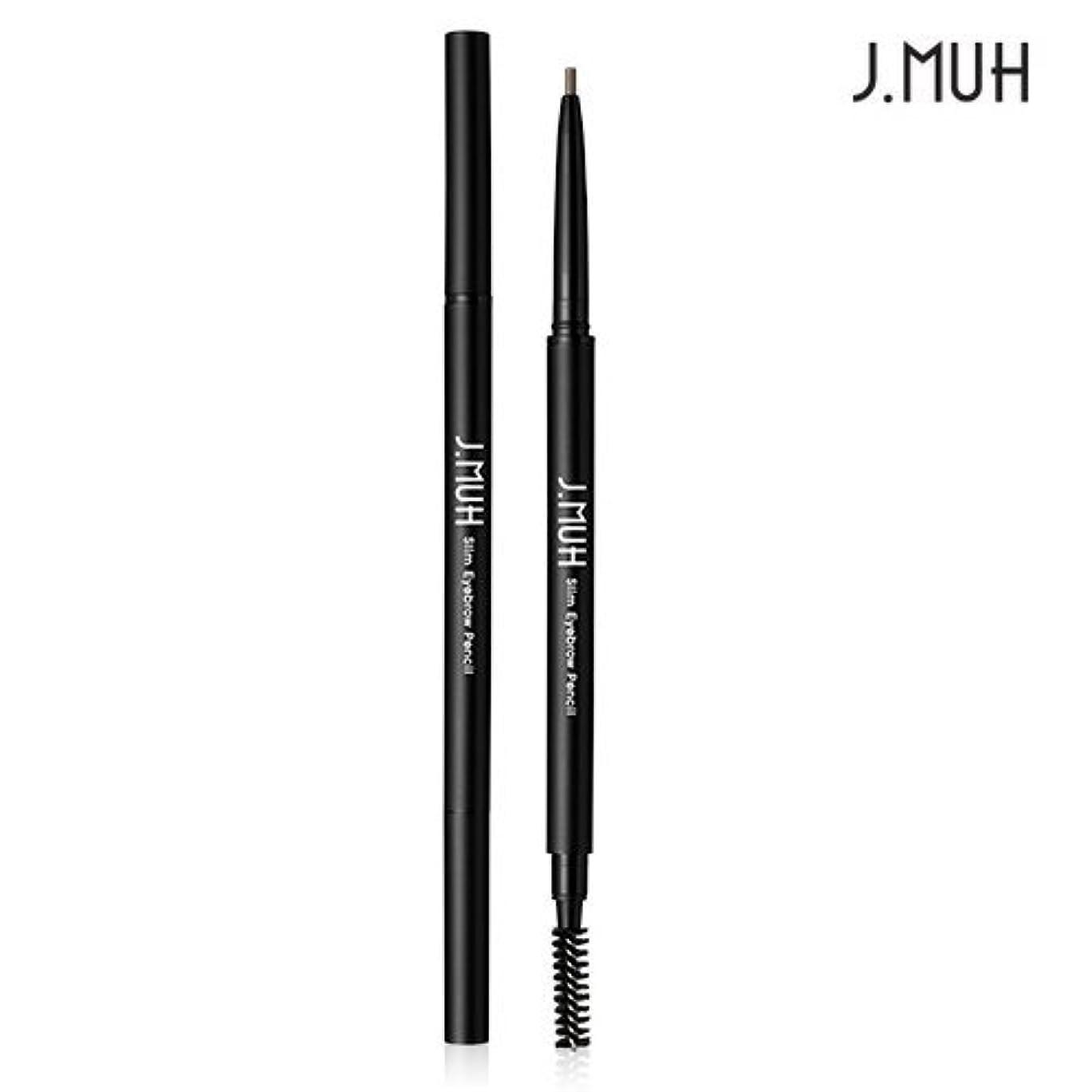 分離スーツケースムスタチオJ.MUH Slim Eyebrow Pencil (No.4 Gray Brown) / ジェイミュー スリムアイブロウペンシル 0.1g [並行輸入品]