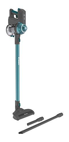 CANDY ALL Surfaces 10 CAS10GC 011 Aspirapolvere senza filo, batteria al litio con autonomia fino a 25 minuti, colore: Gregor Titanium