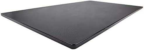 Commercial Plastic Cutting Board for Kitchens Extra Large 30 x 18 x 0 5 Inch NSF Approved Black product image
