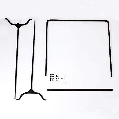SPICEOFLIFE(スパイス)ハンガーラックハイ組立式ジョセフアイアン71×30×144cmDTFF9140