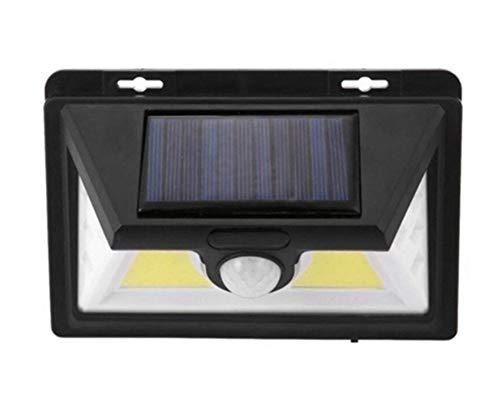 YPJKHM Luz del sensor solar, Aplique de pared de inducción del cuerpo humano con 32 LED, iluminación de exterior de jardín, farola de carretera impermeable IP67-A