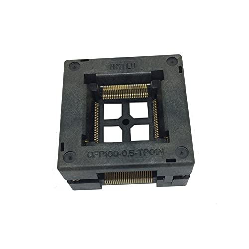 TQFP100 FQFP100 LQFP100 At the price Burn in Socket OTQ-100-0.5-09 Pin Reservation Pitch