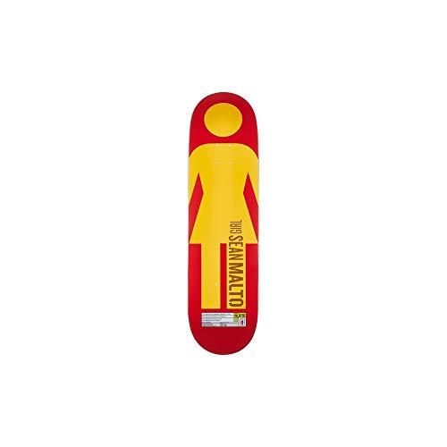 Girl Skateboard-Brett/Deck, 20,32 cm - Sean Malto - Grid OG