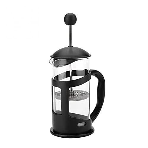 yangmeng Tetera aislada de Vidrio de 350/600/800 ml, Adecuado for el café de la mañana del café máximo del café, Accesorios for el café (Color : 350ml)