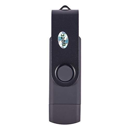 Semoic - Memoria USB (32 GB, USB 2.0), color negro