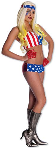 Rubies - Disfraz de Lady Gaga Bandera Americana (889967-STD ...