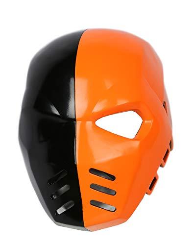 Xcoser Original Design Deathstroke Helmet Resin Full Head Mask Arrow Season 5 Cosplay Props
