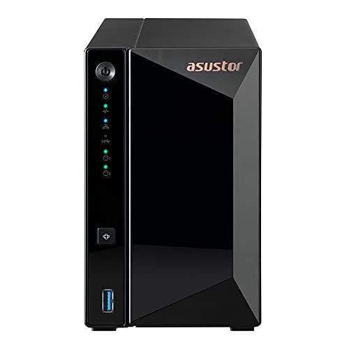 ASUSTOR Drivestor 2 Pro|AS3302T|個人・家庭向け|2ベイ NASキット|Realtek RTD1296 4コア プロセッサ,...