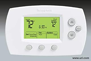 H1ywell I Thermostat, Digital, Programmable, Focuspro 6000, 2h 2c, 2 Heat 2 Cool Th6220d1028