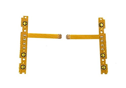 Replacement SL SR Right Left Button Ribbon Flex Cable For Nintendo Switch NS Joy-Con Controller (Right+Left)