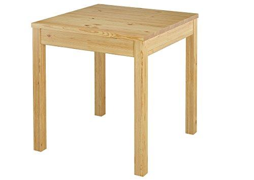 Erst-Holz® Tisch Esstisch Massivholztisch Küchentisch Kiefer Massiv Glatte Beine 90.70-50 A