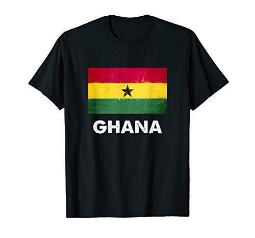 Ghana Flagge Trikot | Ghanaer T-Shirt