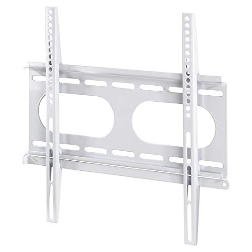 Hama Ultraslim - Soporte de pared fijo para TV entre 32-56' (máximo 50 kg, VESA 400x400), color blanco