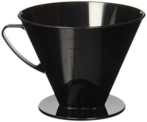 westmark 24462261 Kaffeefilter Six, A, schwarz
