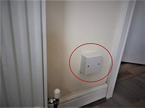 Caja de almacenamiento para ocultar llaves magnéticas ocultas, seguridad segura - S2