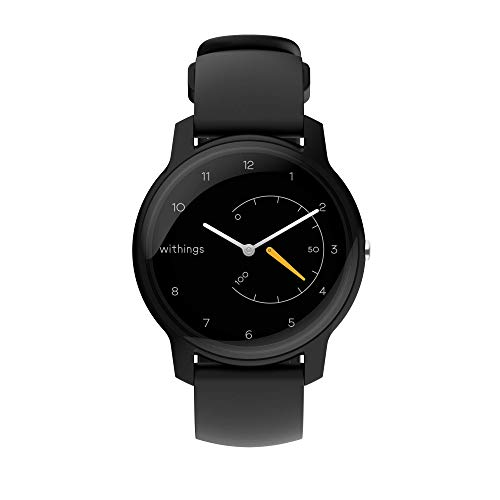 Withings Move Unisex-Adult, Nero & Giallo, 38mm