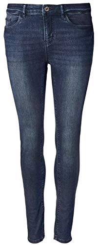 Esmara® Damen Super-Skinny-Jeans Besonders eng anliegend für einen körperbetonten Look Gr. 36/38/40/42/44/46 (36)