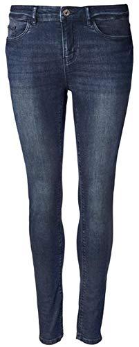 Esmara® Damen Super-Skinny-Jeans Besonders eng anliegend für einen körperbetonten Look Gr. 36/38/40/42/44/46 (38)