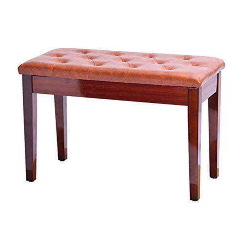 Why Should You Buy Piano Bench Keyboard Bench with Storage,PU Leather Padded Seat Bench Chair Stool,...