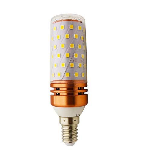 LED Mais Glühbirnen E14 16W Entspricht 150W Glühbirnen Nicht dimmbar 3000K Warmweiß Licht 1500 lm Kleine Edison-Schraube Kerze Leuchtmittel (1er-Pack)