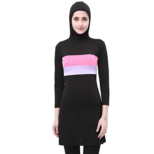bozitian Muslimischen Badeanzug Muslim Islamischen Bescheidene Badebekleidung Modest Swimwear Burkini Oberteil Und Hose Für Muslimische Frauen Mit Hijab