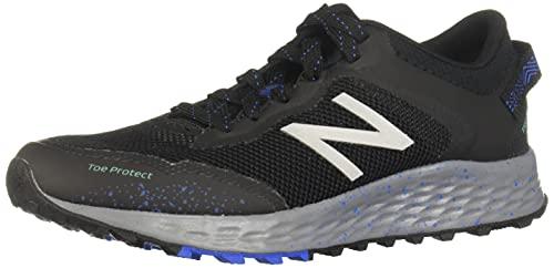 New Balance Women's Fresh Foam Arishi Trail V1 Running Shoe, Black/Black, 7.5