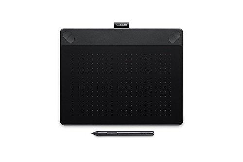 Wacom Intuos Art Medium Tavoletta Grafica da Disegno Digitale con Penna Creativa 4K, Compatibile con Windows & Mac, con Software Creativo Corel Painter Essentials 5 Incluso, Nero [Vecchio Modello]