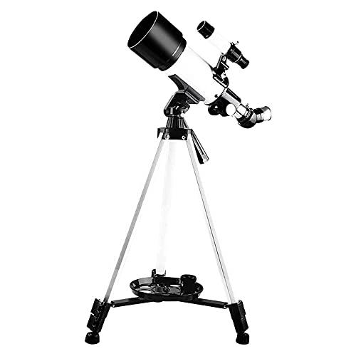 CHENXU Telescopio Astronómico para Adultos Aumento de Alta ampliación Telescopios de astronomía 400x70mm Aperture Refraction Telescope para niños Principiantes Telescopio portátil